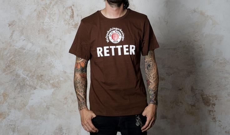 st pauli retter t-shirt
