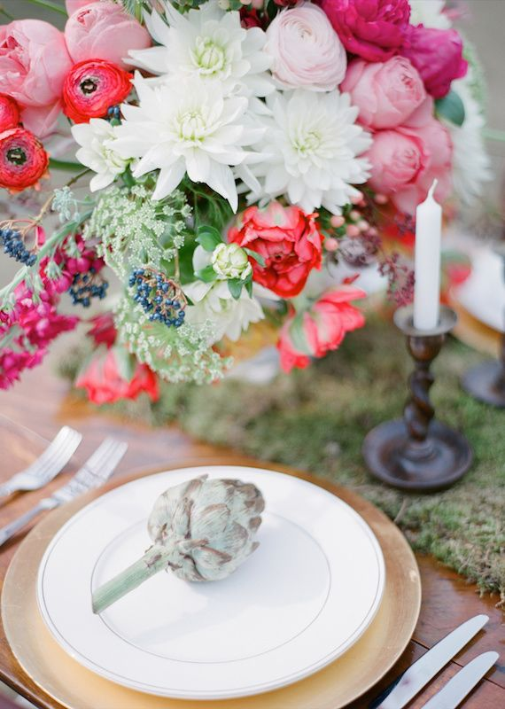 Rustic wedding inspiration | flowers by Bo Boutique | coordination by Wedding Sparrow | photo by Aneta Mak | 100 Layer Cake