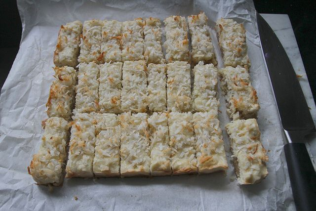 Coconut Lime Bars | Bon Appetit! (Recipes galore) | Pinterest