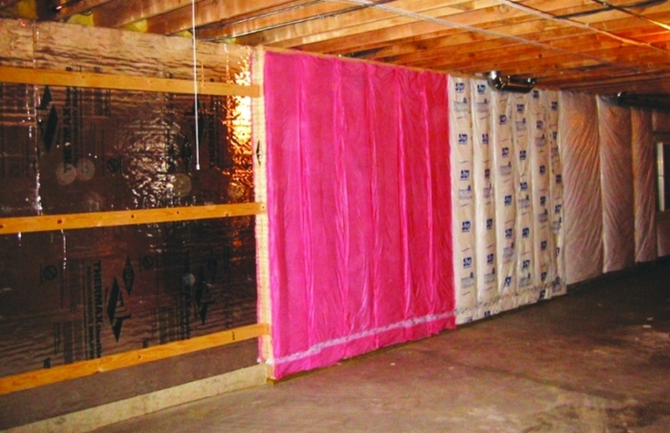 Pin by home energy on homeowner information pinterest Basement blanket insulation