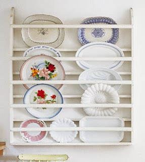 Like this plate display idea!