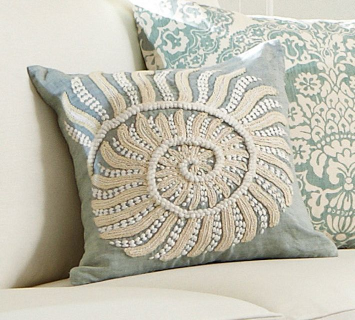 Pottery Barn pretty pillow On the House Pinterest
