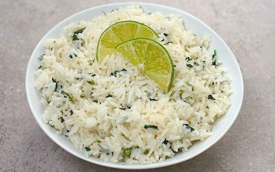Chipotle's Lime Rice Recipe