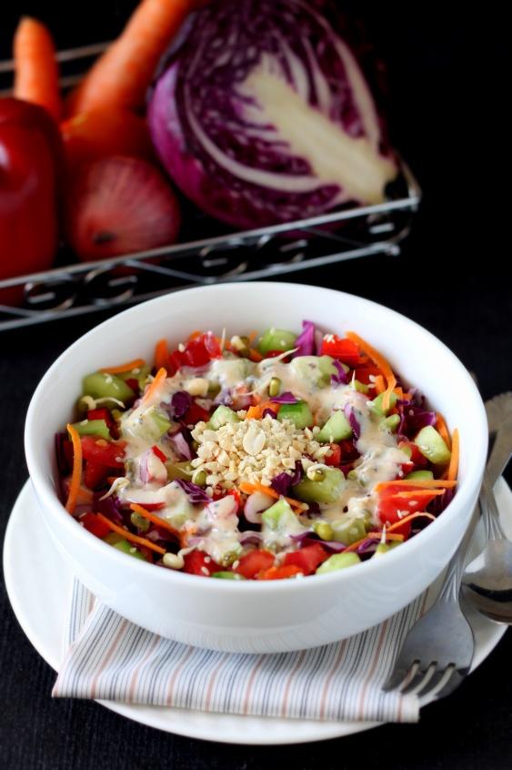 Crunchy Hodge-podge   Salad Recipes   Pinterest