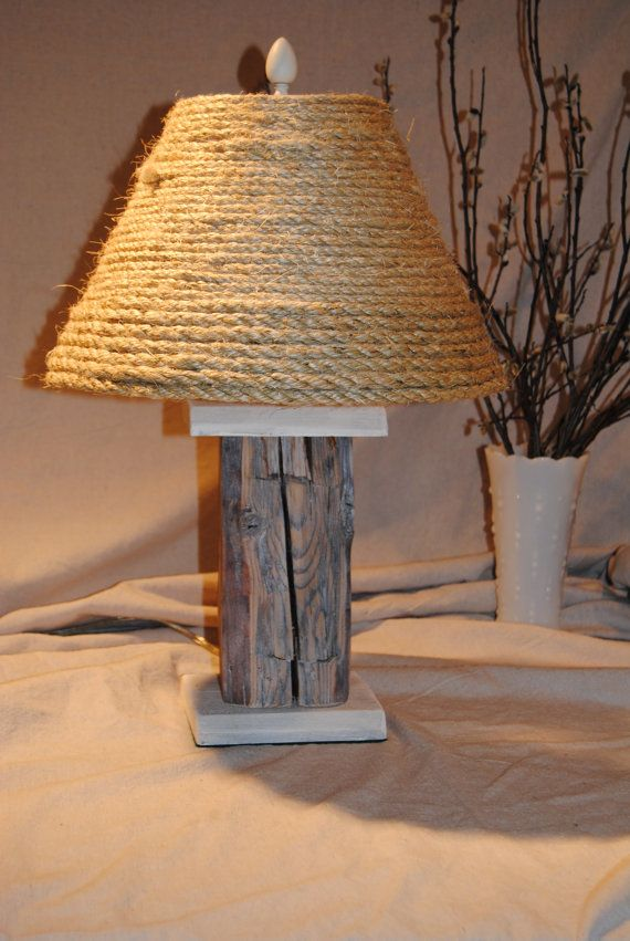 Rustic wooden lamp for Crafting wooden lamps