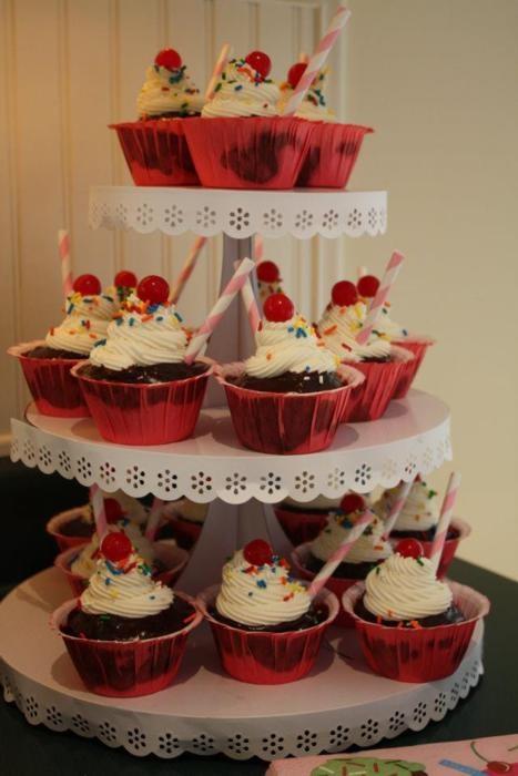 Milkshake cupcakes   Cupcakes   Pinterest