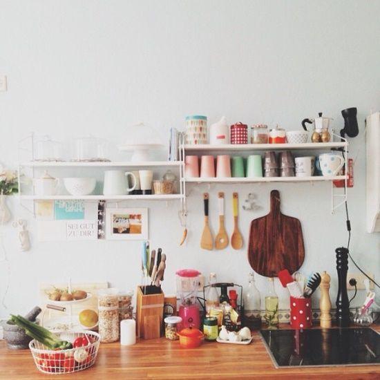 Id e rangement petite cuisine favorite places and spaces for Petite cuisine rangement