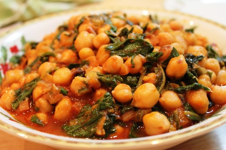 Nivik (Chick peas with spinach) | Armenian food | Pinterest