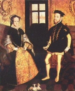 mary 1 and philip of spain