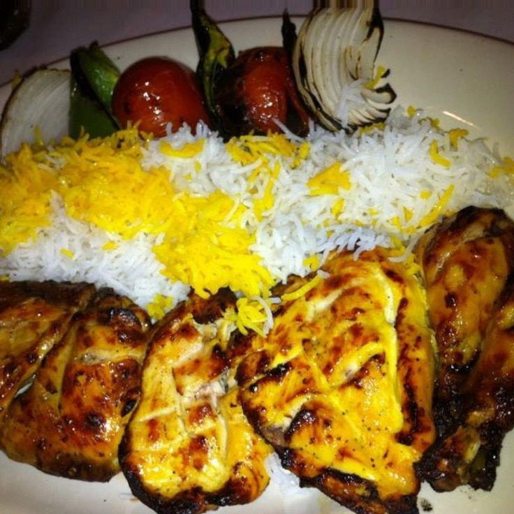 Persian Chicken Kabobs | recipes to try | Pinterest
