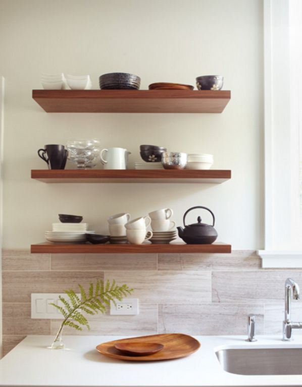 repisas para cocinas decorating the home with creativity