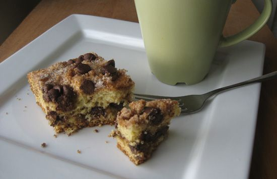 chocolate chip coffee cake | Fashion and Food | Pinterest