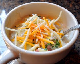 Cleverlyinspired: Red Potato Soup | recipes | Pinterest