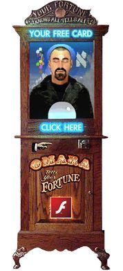 gipsy fortune teller online machine