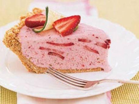 Frozen Strawberry Margarita Pie | Recipe