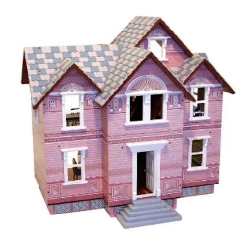 Melissa Doug Classic Heirloom Victorian Wooden Doll House Family