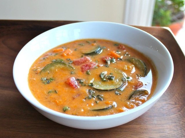 Autumn Sweet Potato Soup - African Inspired Recipe - made this ...