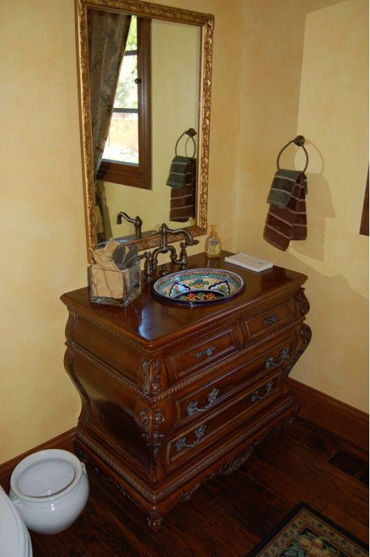 bathroom vanity with unique sink bathroom ideas pinterest