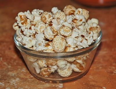 sugar and spice popcorn | First Birthday | Pinterest