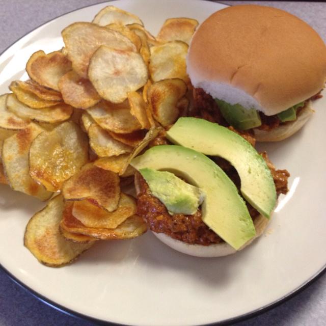 More like this: potato chip , baked potato and turkey .