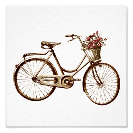 Vintage Bicycle Basket 34