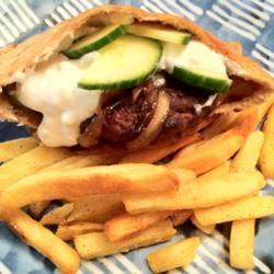 Mediterranean Lamb Burgers Allrecipes.com