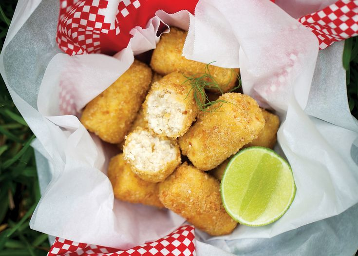 Millet and tofu croquettes | FOODWISE | little yum | Pinterest