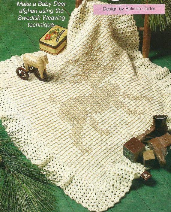 Crochet Baby Deer Pattern : Crochet Pattern for a Baby Deer Afghan