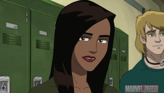 Ultimate Spider Man Ava Ayala