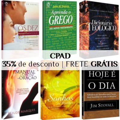 CPAD - Frete GRÁTIS - com 35% em 6x no cartão