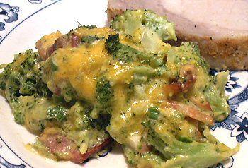 CHEESY BROCCOLI CASSEROLE - Linda's Low Carb Menus & Recipes