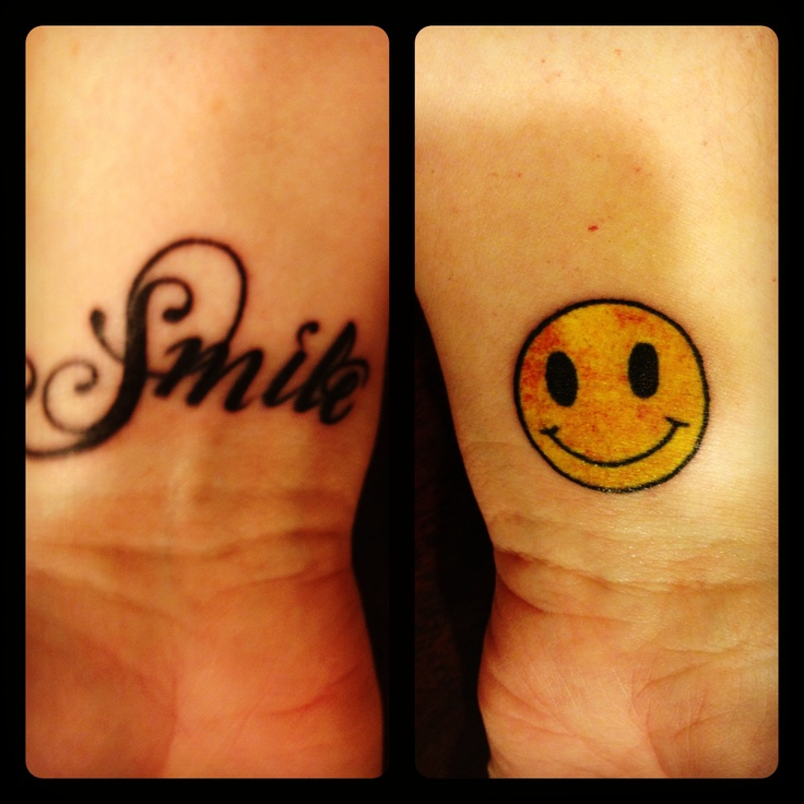 Smile tattoo quotes that inspire me always pinterest for Smile more tattoo