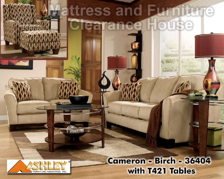 $419 99 Ashley Cameron Birch Loveseat With a