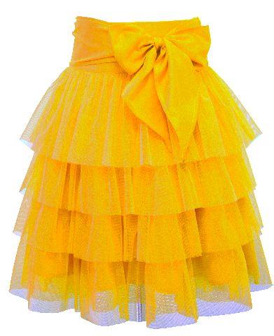 sunflower yellow tulle party skirt my girls pinterest