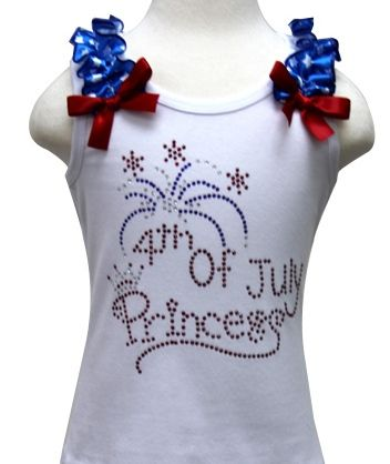 fourth of july bling shirts