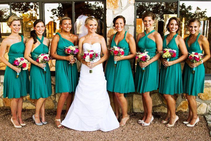 how to wear a multi wrap dress
