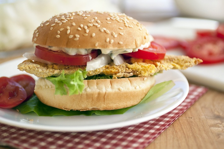 Oven-Fried Catfish Sandwiches | Sandwich Mania | Pinterest