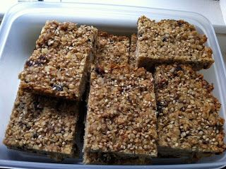 Fig, Almond & Choc Chip Honey Flapjacks | Recipes I love | Pinterest