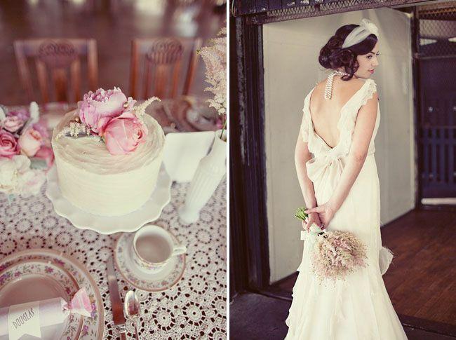 20s style wedding