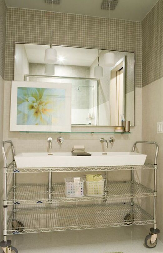 Industrial Double Sink : Industrial double sink in the bathroom Laundromat Pinterest