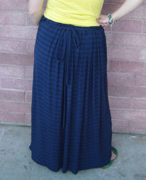 maxi skirt maternity crafts