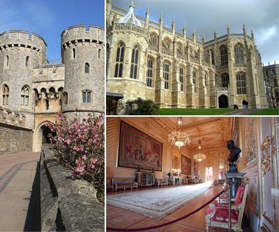 Windsor castle uk british isles pinterest - Biggest house in the world ...