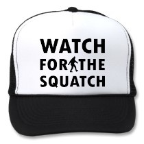 Watch for Squatch by http://Label-Me-Happy.com