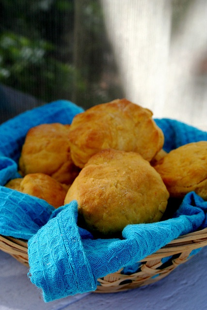 SWEET POTATO YEAST BISCUITS | Food - baker's dozen | Pinterest