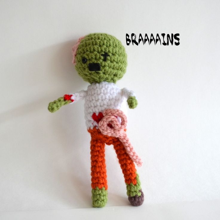 Crochet Zombie Patterns : Zombie Pattern
