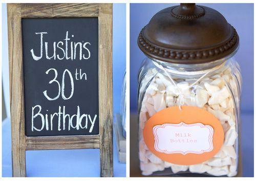 Man 39 s 30th birthday party idea birthday ideas pinterest for 30th birthday decoration ideas for men