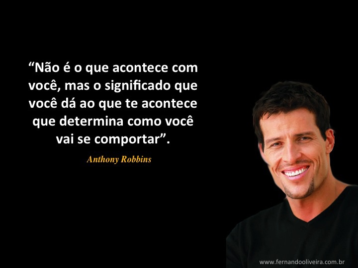 How is anthony robbins quotes