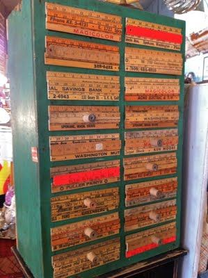 Happiness Crafty: Rulers Upcycled- torn between drawer fronts or the ...