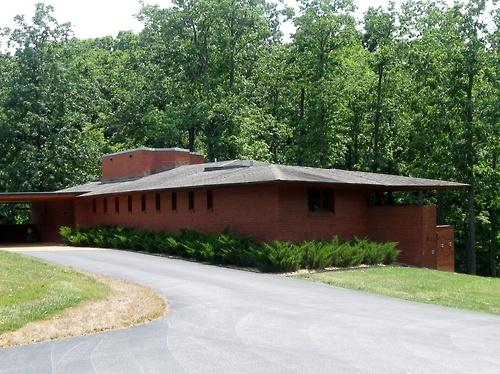 The Kraus House In Kirkwood Missouri Arc Frank Lloyd