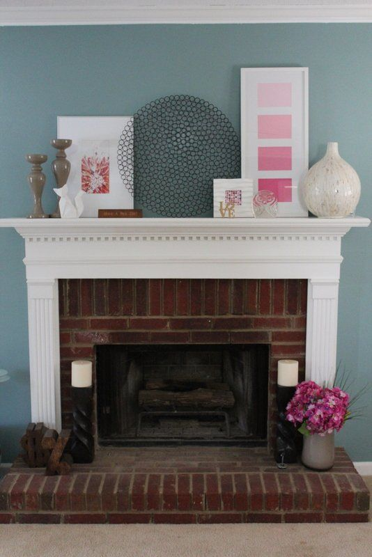 Stacked mantle decorations